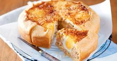 Bacon and egg pie. Bake breakfast for the whole family in this one easy pie. Egg And Bacon Pie, Egg Pie, Bacon Egg, Egg Recipes, Cooking Recipes, Savoury Recipes, Quiche Recipes, Bacon Recipes, Recipes Dinner