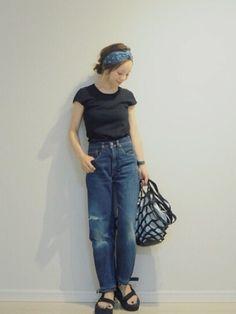 田中亜希子|TOMORROWLAND のヘアバンドを使ったコーディネート - WEAR