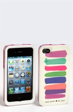 kate spade new york 'paint swatches' iPhone 4 & 4S case