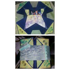 Geburtstagskarte mit Gutschein zum 60. Geburtstag einer Arbeitskollegin