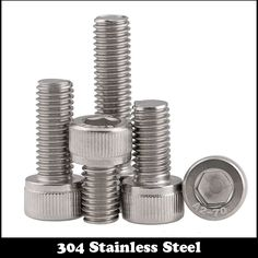 2pcs M8 120mm M8*120mm M8X120 304 Stainless Steel SS DIN912 Inner HEX Bolt Hexagon Socket Cap Screw #Affiliate