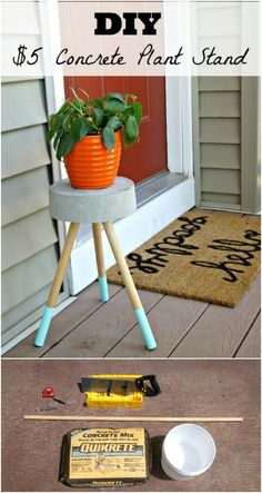 50 DIY Plant Stand Ideas for an Outdoor and Indoor Decoration TAGS: House plants, Hanging plants, Indoor plants decor, Plant stand indoor ideas, Wood plant stand Patio Diy, Diy Planters Outdoor, Indoor Outdoor, Outdoor Ideas, Diy Hanging, Hanging Plants, Indoor Plants, Indoor Garden, Potted Plants