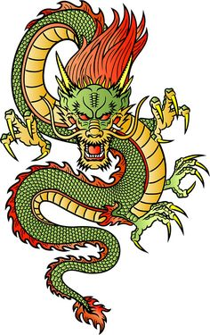Bright Chinese Dragon
