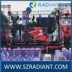 Radiant P4.81 P3.91 SMD2727 full color rental outdoor LED screen for conference