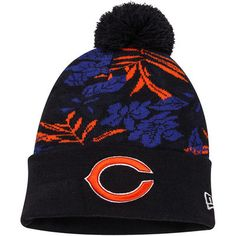 Men's Chicago Bears New Era Orange Flip Up Team Redux 9FIFTY Snapback Adjustable Hat