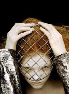 Vlada Roslyakova photographed by Ben Hassett for Vogue Nippon.