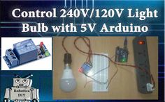 In this tutorial we will see how to control 240V/120V light bulb from 5V Arduino using Relay module. And we will turn on and off light by using blinking code. So, let's get started. Warning! …