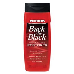 Mothers 0611266PK BacktoBlack Plastic and Trim Restorer  12 fl oz Pack of 6 ** Find out more about the great product at the image link.