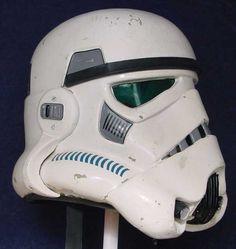 Original ANH Stunt Stormtrooper Helmets