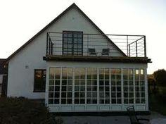 balkong ovanpå uterum