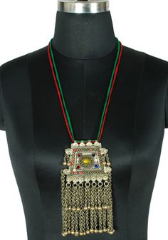 Antique Afghan Necklace design 12 – Desically Ethnic