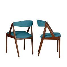 sedie in teak design scandinavo