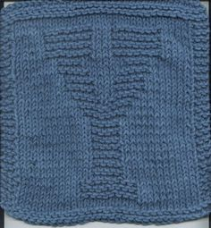 "Knitted ""Y"" Cloth"