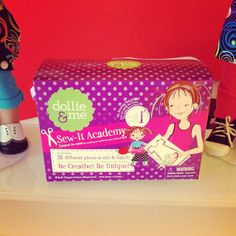 Create your favorite outfit for your Dollie with the Sew-It Academy Kit!