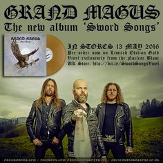 HARD N' HEAVY GRAND MAGUS - REVEALS NEW ALBUM'S DETAILS