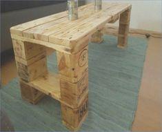 Garden table From pallets instructions  #garden #instructions #pallets #table