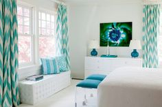 COCOCOZY: COLOR WATCH: BOLD BEDROOMS IN SHADES OF BLUE!