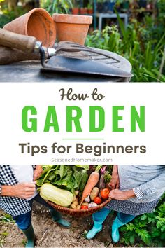 Are you a Beginning Gardener? It's time to start planning your spring garden and I have a few Gardening Tips for Beginners that will help you get you on the right path. Your first vegetable garden is sure to be a success! #gardeningtips #beginnergardening Starting A Vegetable Garden, Vegetable Garden For Beginners, Gardening For Beginners, Sewing For Beginners, Gardening Tips, Vegetable Gardening, Easy Sewing Projects, Sewing Tutorials, Disaster Kits