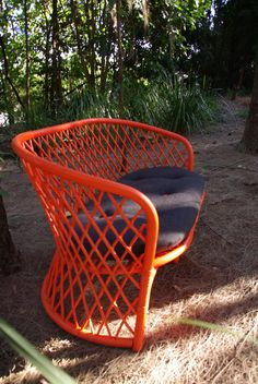 Upcycled Vintage Cane 2 Seater Chair