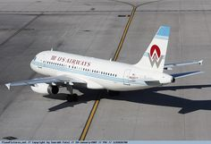 US Airways - Airbus A319 - N828AW - Phoenix International Airport...our heritage airplane!