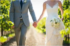 California vineyard wedding | photo by http://www.evanchungphoto.com | see more https://www.thebridelink.com/blog/2014/01/17/vineyard-wedding-in-california/