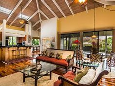 Tropical+&+Elegant+Single+Story+~+Plantation+Home+~+Sleeps+8++++Vacation Rental in North Shore from @homeaway! #vacation #rental #travel #homeaway