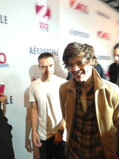 Liam and Harry on the Red Carpet for the Jingle Ball, 7.12.12.