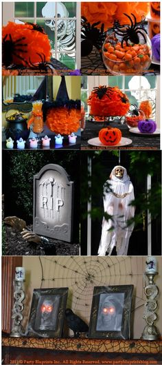 Lots of Spooky Halloween Decorations here