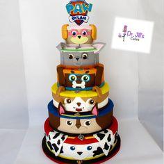 paw patrol tower cake - Recherche Google