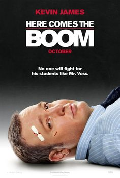 Here Comes the Boom shows Kevin James down for the count but still awake and a little bit bruised. Pretty subtle for a Kevin James movie about a teacher who enters the mixed martial arts ring to get needed funds for his beloved school. Kevin James, James 3, 2012 Movie, See Movie, Movie Tv, Funny Movies, Great Movies, Comedy Movies, Amazing Movies