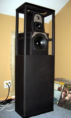 Vandersteen 3A - Skinned. Click photo for more pics and story.