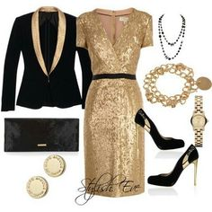 This would be a great New Years Eve party dress!
