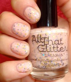 Keep Your Nail Game Fresh: All That Glitters - Dream On (from the Bitter Hearts collection) #nails #nailpolish #beautyblog #swatch #review