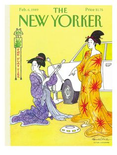 The New Yorker Cover - February 6, 1989 Premium Giclee Print.