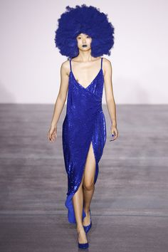 Blue Afro See the complete Ashish Fall 2016 Ready-to-Wear collection.