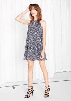 & Other Stories | A-line Halter Dress