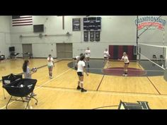 Outside hitter volleyball position. The left side hitter usually receives the most sets during a game and are required to pass well and hit to score points. What Is Volleyball, Volleyball Hitter, Volleyball Gifs, Volleyball Practice, Coaching Volleyball, Volleyball Positions, Competition, The Outsiders, Basketball Court