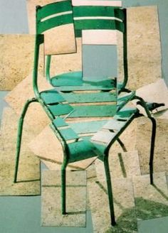 David Hockney A Chair Jardin du Luxembourg, Paris 10 août 1985 photocollage 1985 David Hockney Photography, Photography Collage, Creative Photography, Distortion Photography, Montage Photography, Photography Ideas, Modern Pop Art, Modern Art Prints, David Hockney Collage