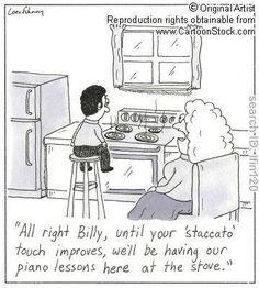 Lmao! I remember good ole piano lesson days!