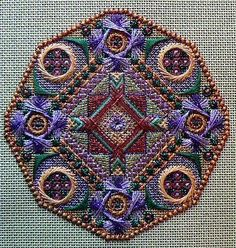 Old Country, needlepoint design by Jim Wurth