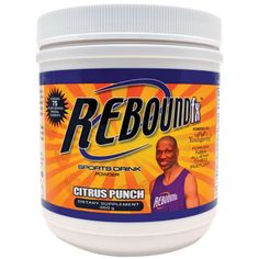 Rebound fx™ Citrus Punch is a high-powered alternative to the high-sodium, high carbohydrate sports drinks used by others! Supplying quick sustained energy while offering a balance of antioxidants, natural herbs, and the minerals that must be replenished in order for the body to function at optimal levels! Rebound fx™ Citrus Punch is endorsed and promoted by former NBA All-Star Theo Ratliff