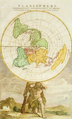Flat Earth Map 2016.Flat Earth Map 1892 Gleason S New Standard Map Of The World Large