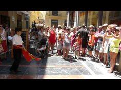 Pasacalle de Verdiales por Málaga_Organiza Grupo Vive el Centro. Danse, le chant et la vieille musique traditionnelle des montagnes de Malaga / Dancing, singing and old traditional music of the mountains of Malaga