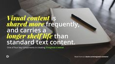 Evergreen Content: Get More Traffic Without More Writing - @dustinwstout