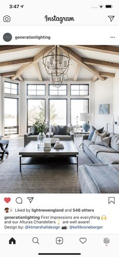 Oversized Mirror, Modern Lodge, Curtains, Furniture, Cottage, Home Decor, Board, Design, Homemade Home Decor