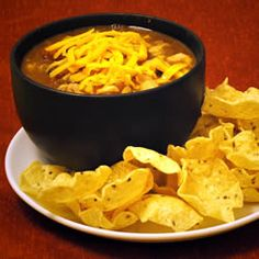 Taco Soup--stove top or crockpot! Maybe change Lima's to Red Beans and Stewed Tomatoes to Diced...
