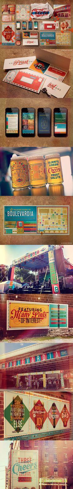 BOULEVARDIA: Event Branding