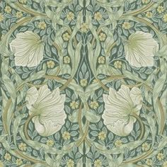 Shop William Morris, Art nouveau pattern, beautiful art Photo Print created by Personalize it with photos & text or purchase as is! William Morris Wallpaper, William Morris Art, Morris Wallpapers, Craftsman Wallpaper, Arts And Crafts Interiors, Art Nouveau Pattern, Photo Print, Green Wallpaper, Flower Wallpaper