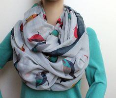 Chic infinity scarves from Etsy for fall