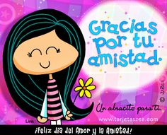 """Gracias por tu Amistad """"thanks for your friendship"""" Valentines Day Quotes Friendship, Happy Valentine Day Quotes, Friendship Quotes, Valentine's Day Quotes, Love Quotes, Wisdom Quotes, Inspiring Quotes, Flirting Tips For Girls, Happy B Day"""